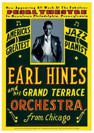 Earl Hines and His Grand Terrace Orchestra at the Pearl Theatre, Pennsylvania, 1929 by Dennis Loren