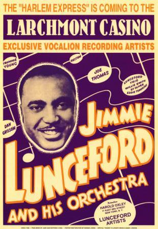 Jimmie Lunceford and His Orchestra at the Larchmont Casino by Dennis Loren