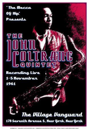 John Coltrane Quintet at the Village Vanguard, New York City, 1961