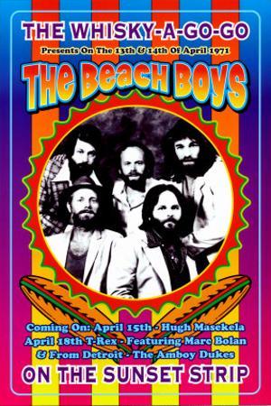 The Beach Boys at the Whiskey A-Go-Go by Dennis Loren