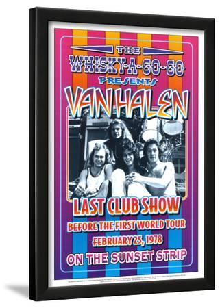 Van Halen at the Whiskey A-Go-Go by Dennis Loren