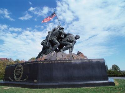 Iwo Jima Mem Statue, Arlington Natl Cemetery, VA by Dennis Macdonald