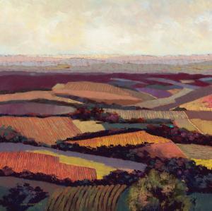 Tuscan Vista by Dennis Rhoades