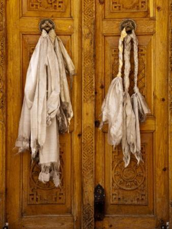 Door at Likir Monastery