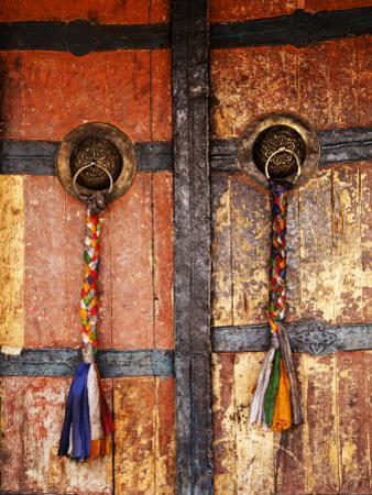 Door at Tikse Monastery