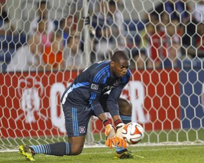 Aug 10, 2014 - MLS: New York Red Bulls vs Chicago Fire - Sean Johnson