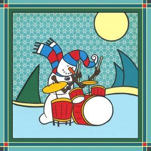 Coalman the Snowman Drums 1 by Denny Driver