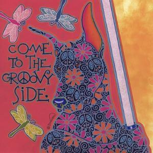 Doberman Pinscher (Come to the Groovy Side) by Denny Driver