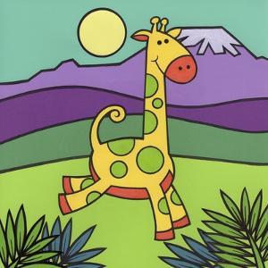 Giraffe by Denny Driver
