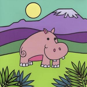 Hippopotamus by Denny Driver