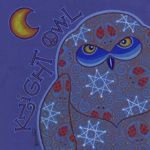 Owl I (Snowy Owl) by Denny Driver