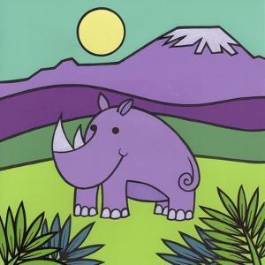 Rhinoceros by Denny Driver