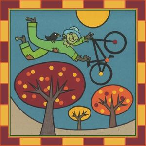 Stitch the Scarecrow Bike 1 by Denny Driver