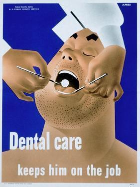Dental Care Keeps Him on the Job