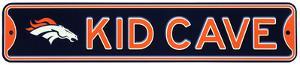 Denver Broncos Steel Kid Cave Sign