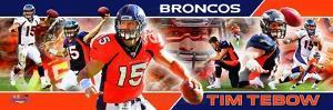Denver Broncos - Tim Tebow Panoramic Photo