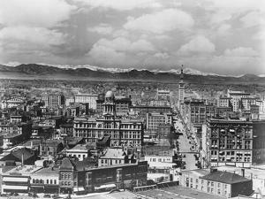 Denver Colorado and Rocky Mountains