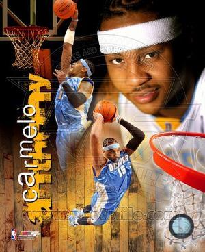 Denver Nuggets - Carmelo Anthony Photo
