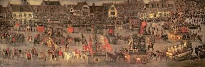 The Triumph of the Archduchess Isabella (1556-1633) in the Brussels Ommeganck of 31st May 1615 by Denys van Alsloot