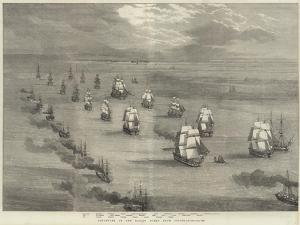 Departure of the Baltic Fleet from Spithead