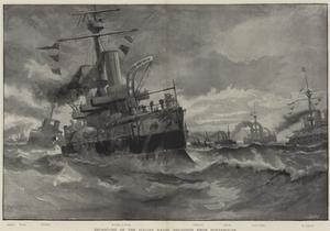 Departure of the Italian Naval Squadron from Portsmouth