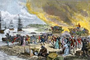 Deportation of the Acadians by the British, 1755