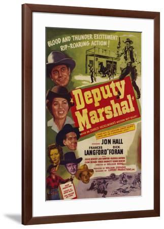 Deputy Marshal--Framed Poster