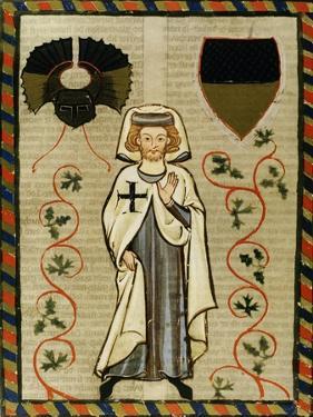 Der Tannhauser (1200-1305), Poet and Crusader. Fol.164R. Codex Manesse (Ca.1300)