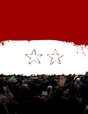 Syrian Flag by Derek Bacon