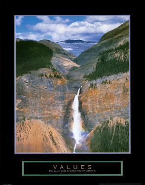 Values: Takakkaw Falls by Dermot Conlan