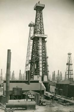 Derrick and Oil Field