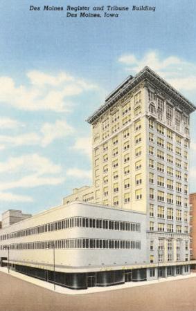 Des Moines Register and Tribune Building, Des Moines, Iowa