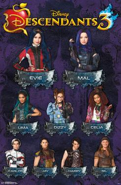Descendants 3 - Grid