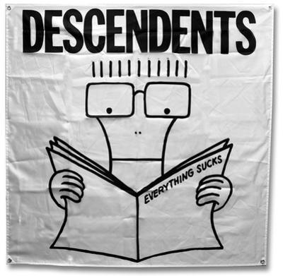 Descendents - Everything Sucks Flag
