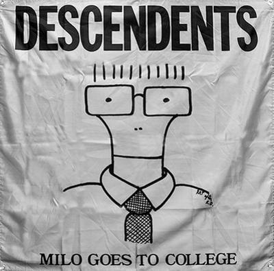 Descendents - Milo Goes To College Flag
