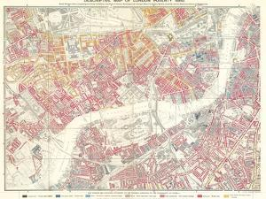 Descriptive Map of London Poverty, 1889