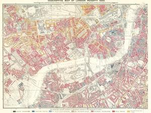 Descriptive Map of London Poverty, 1889