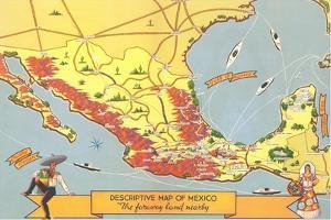 Descriptive Map of Mexico