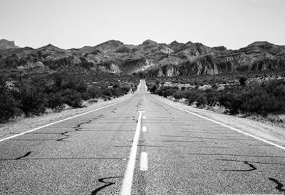 Desert Road in Arizona