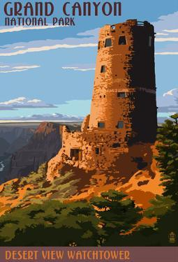 Desert View Watchtower - Grand CaNYon