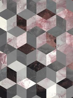 Cubes Rose by Design Fabrikken