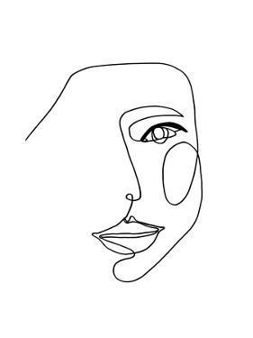 Face Line 1 by Design Fabrikken
