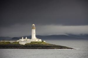 A Lighthouse; Eilean Musdile in the Firth of Lorn,Scotland by Design Pics Inc