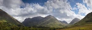 A Mountainous Landscape under Clouds; Glencoe, Argyll, Scotland by Design Pics Inc