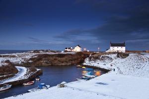 A Village on the Coast; Seaton Sluice, Northumberland, England by Design Pics Inc