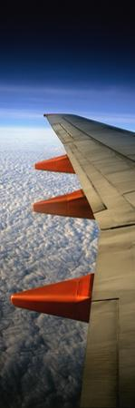 Aeroplane Wing Flying London to Glasgow by Design Pics Inc
