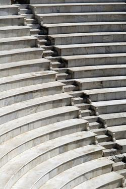 Amphitheatre Seating in Patras, Close-Up by Design Pics Inc