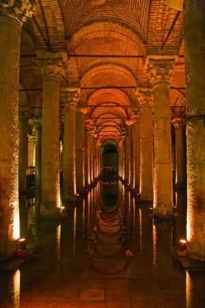 Basilica Cistern, Istanbul, Turkey; Ancient Underground Cistern by Design Pics Inc