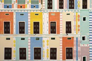 Bright Multicolored Building, Close Up by Design Pics Inc