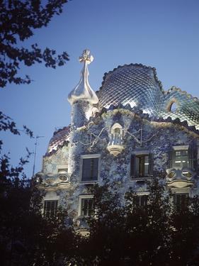 Casa Batllo at Dusk by Design Pics Inc